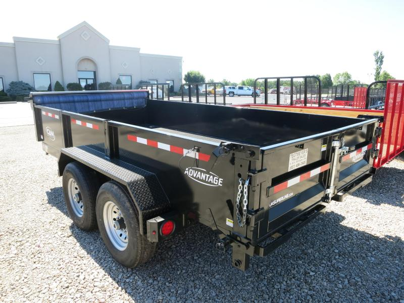 Cam Superline Trailers  7x14 Dump Trailer