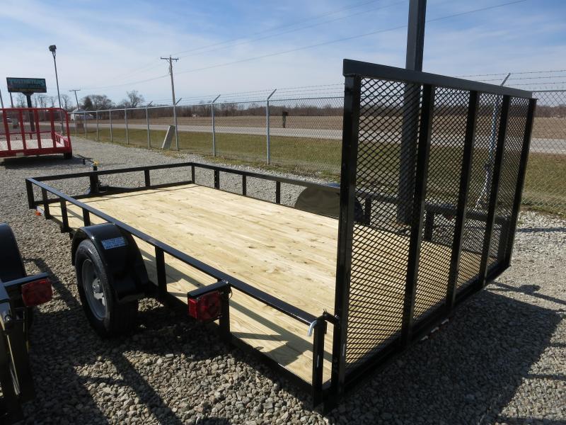 American Manufacturing 6x14 Utility Trailer w/ gate