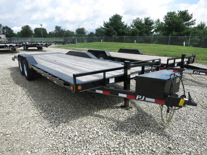 "PJ Trailers 22' x 6"" Channel Super-Wide Trailer"