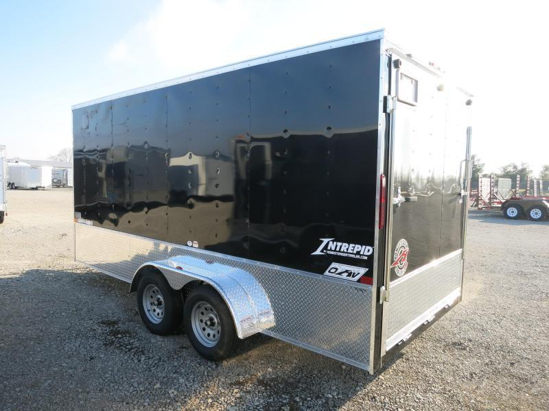 Homesteader Trailers 7x16 Enclosed Trailer w/ Ramp Door - Extra Height - Vents - Drings