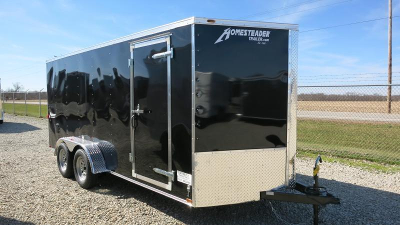 Homesteader 7x16 Enclosed Trailer with Ramp Door