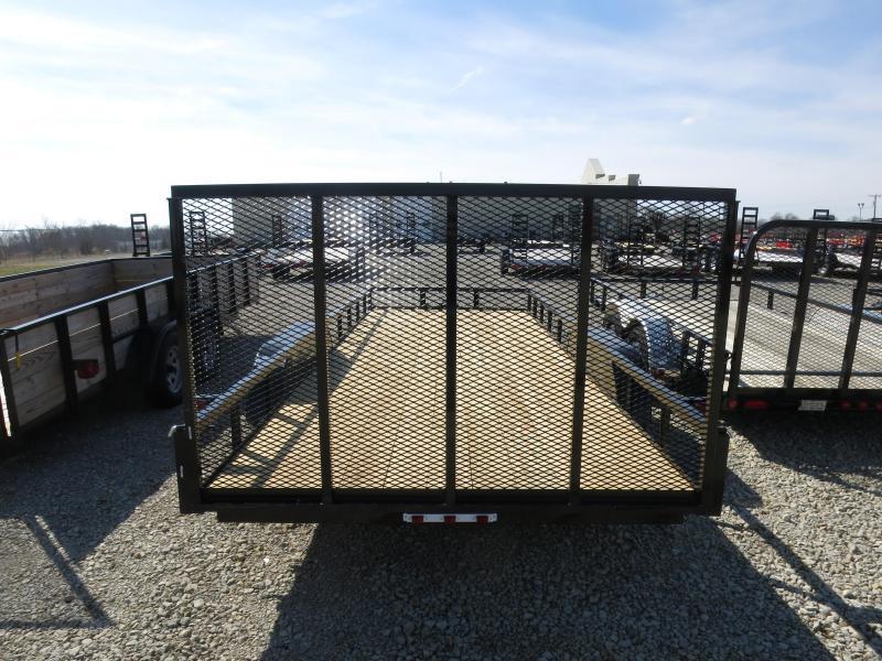 American Manufacturing 7x20 Utility Trailer w/ gate