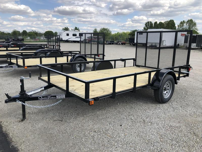 Quality Trailers 6x12 Wood Floor Utility Trailer