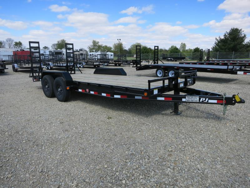 PJ Trailers 20' Equipment Trailer