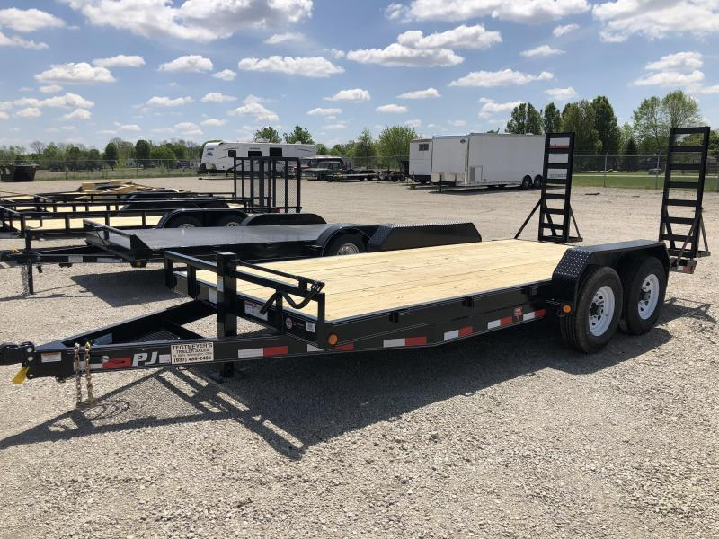 PJ Trailers 18' Equipment Trailer