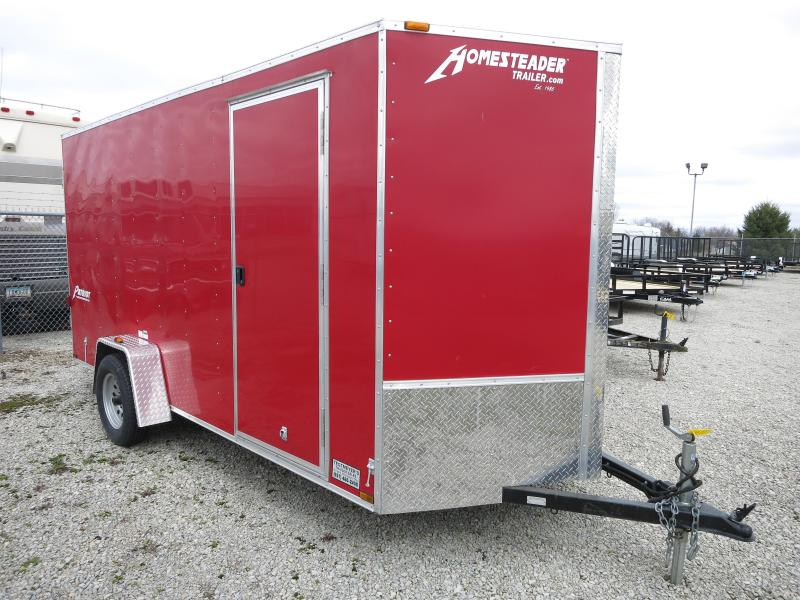 Homesteader Trailers 6x14 Enclosed Trailer w/ Dbl Dr