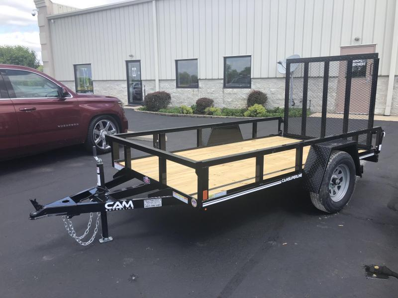 Cam Superline Trailers  5x10 Utility w/ gate
