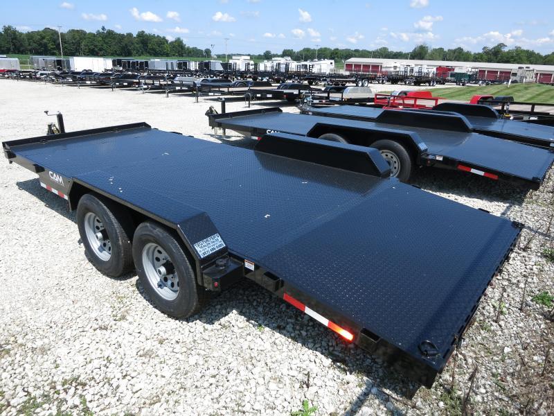 Cam Superline Trailers  7x18 TA Steel Floor Car Hauler
