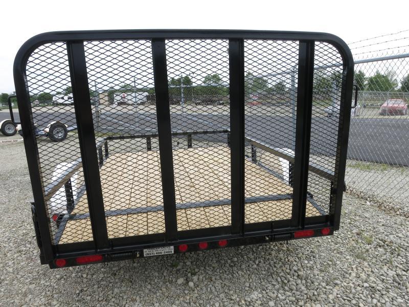 PJ Trailers 6x10 Utility Trailers w/ Gate