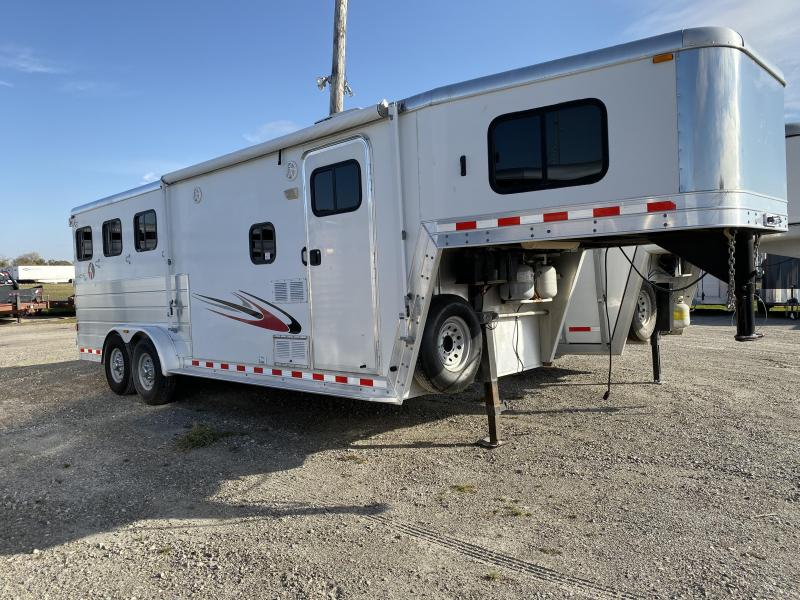 2008 Kiefer Built Genesis Horse Trailer