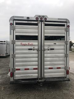 2012 Keifer Built A2G7247 Livestock Trailer