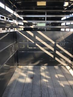 NEW Delta Manufacturing 6x16 Delta Bumper Stock Livestock Trailer