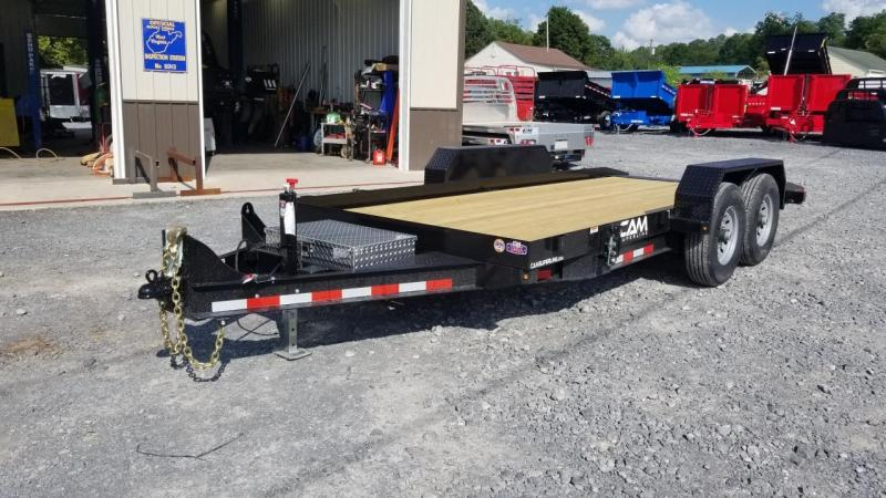 Cam Superline 7X18 14K Full Tilt Equipment Trailer