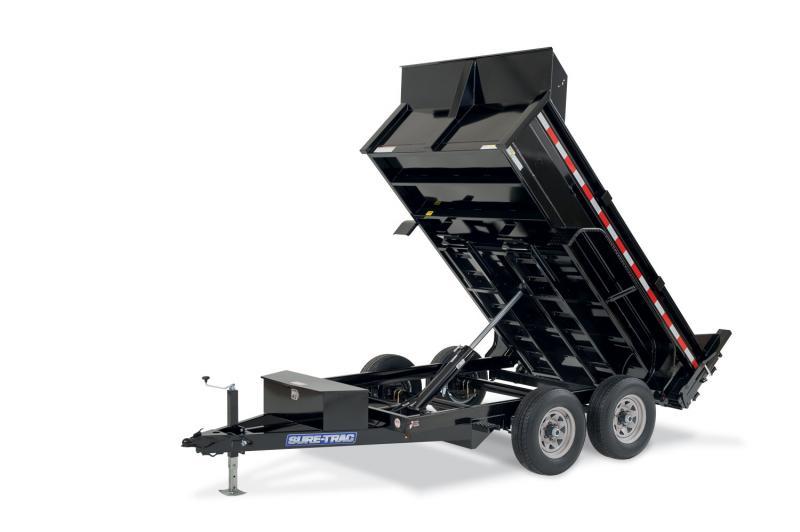Sure-Trac 72 IN x 12 LProfile 10K Single Ram Dump