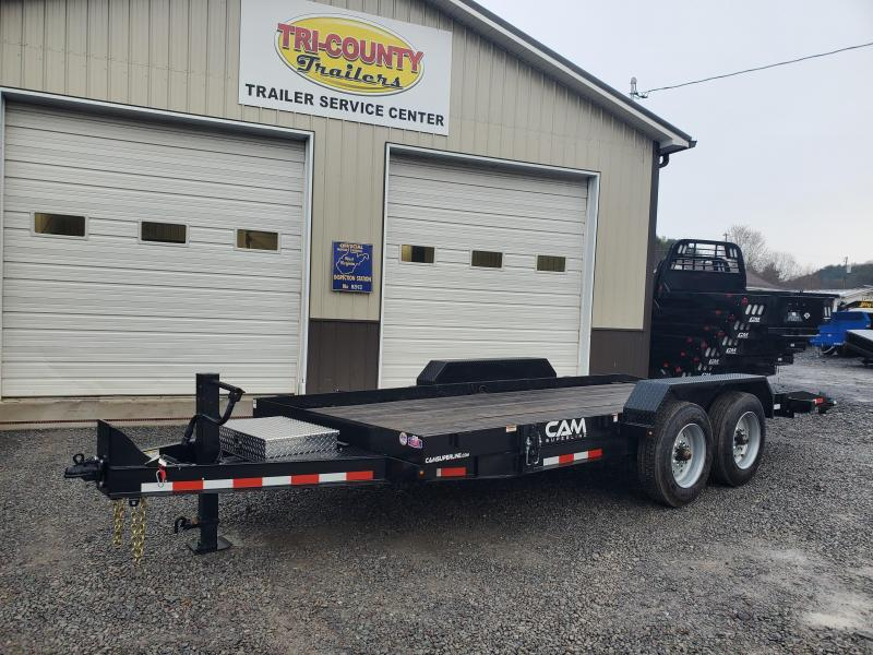 2019 Cam Superline P8CAM18FTT Equipment Trailer