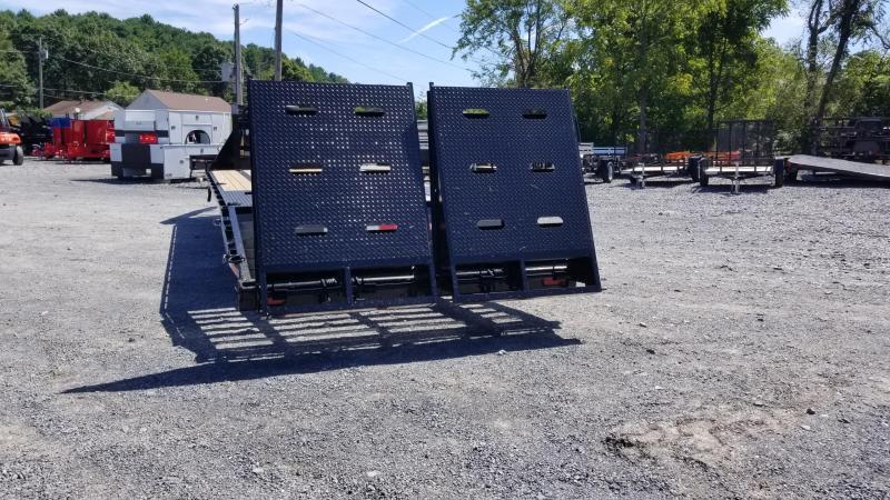 Sure-Trac 8.5X20+5 17.6K Gooseneck Deckover Equipment Trailer W/ Full Width Ramps