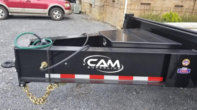 Cam Superline 102X25 40K Pintle Deckover Air Brake Equipment Trailer