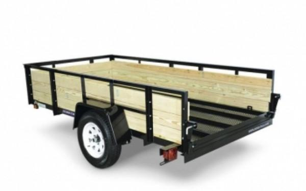 Sure-Trac 3-Board High Side 6 x 10 Utility Trailer