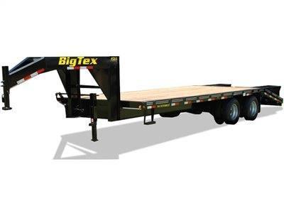 Big Tex Trailers 20 GN 102X20+5 20K Gooseneck Deckover