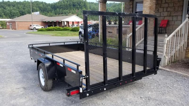 Sure-Trac 7X12 3K Steel High Side Utility Trailer