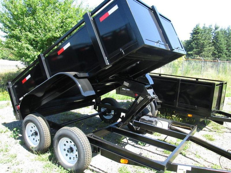 Trail Dust Dump Trailers