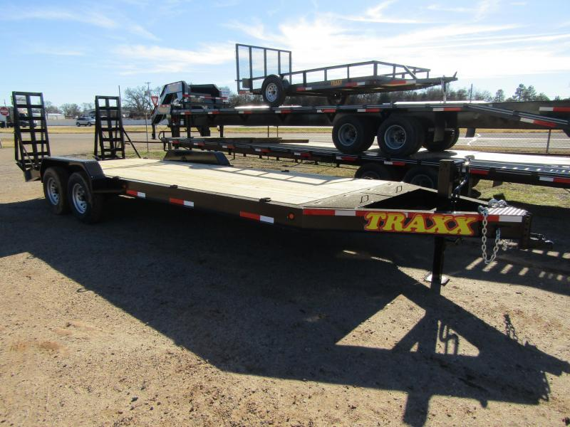 Traxx Trailers 22' Equipment Trailer