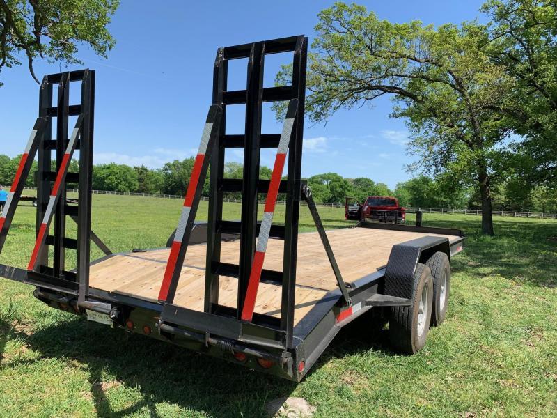 2019 Traxx Trailers EQH22BP Equipment Trailer