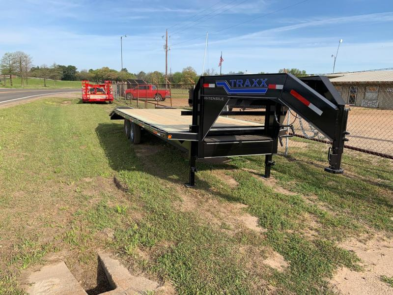 2019 Traxx Trailers DO25SW Flatbed Trailer