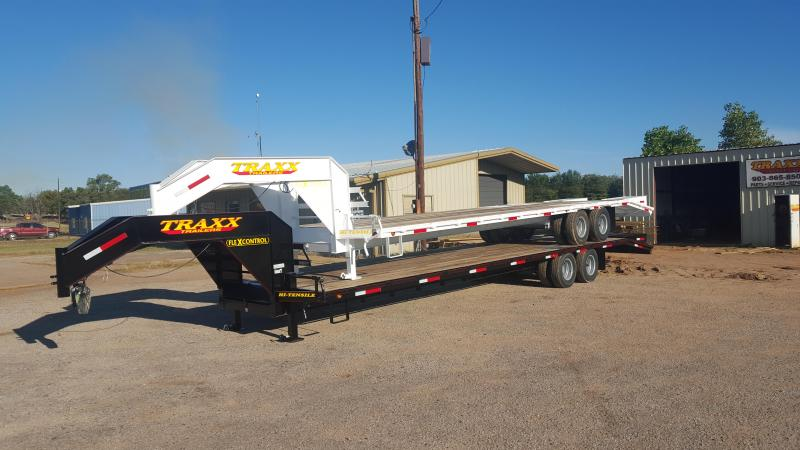 Traxx Trailers 32' Tandem Dual Gooseneck Low Pro Trailer