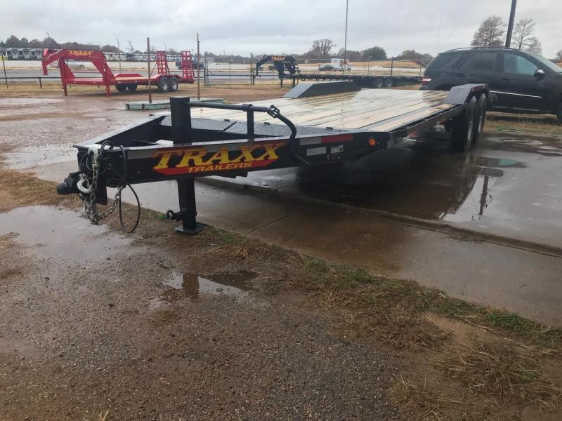 Traxx Trailers 22 BP Equipment Hauler Equipment Trailer
