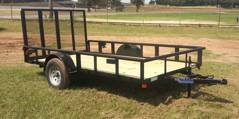 Traxx Trailers 12BPSA Flatbed Trailer