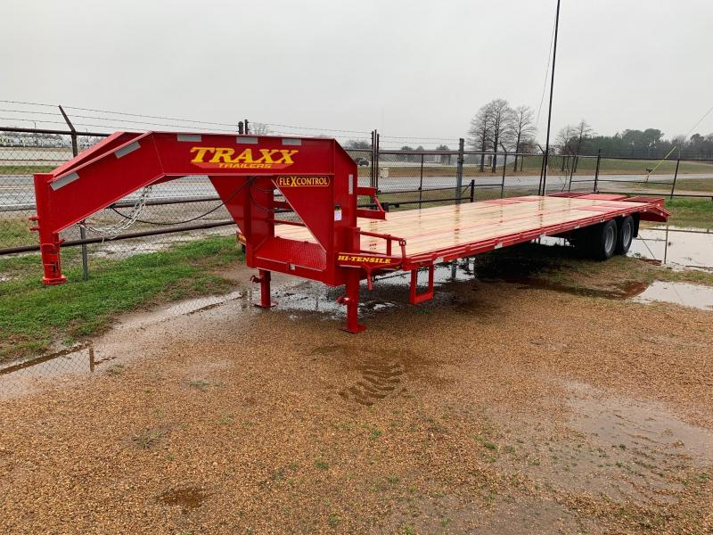 Traxx Trailers 32' Gooseneck Flatbed Trailer
