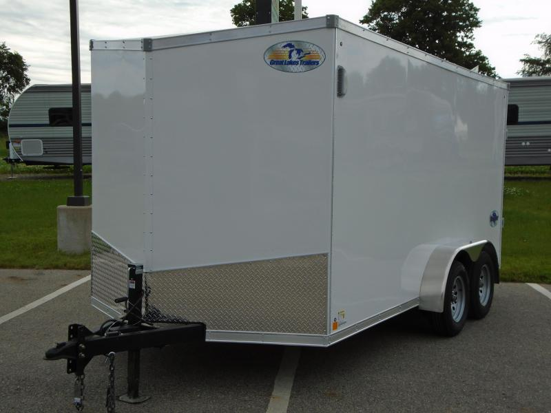 2020 Great Lakes Trailers GLHFTW714TA35-S Huron 7x14 RD/SD Enclosed Cargo Trailer in  Maiden, NC