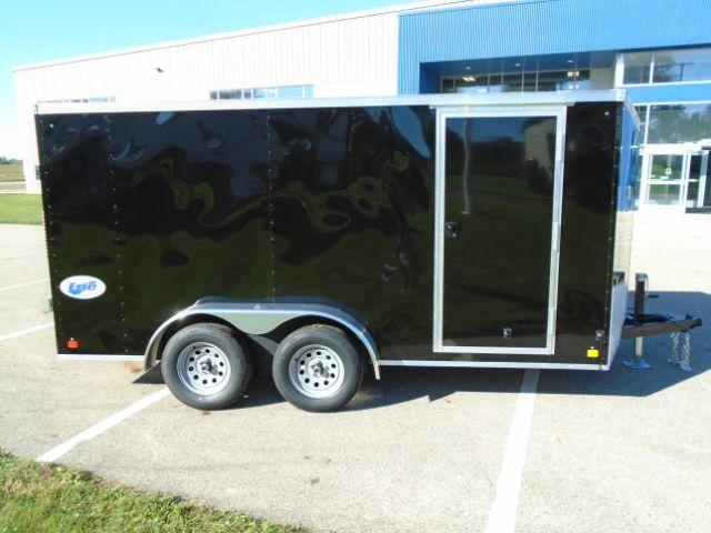 2020 Great Lakes Trailers GLEFTW714TA35-S ERIE 7X14 RD/SD Enclosed Cargo Trailer in  Maiden, NC