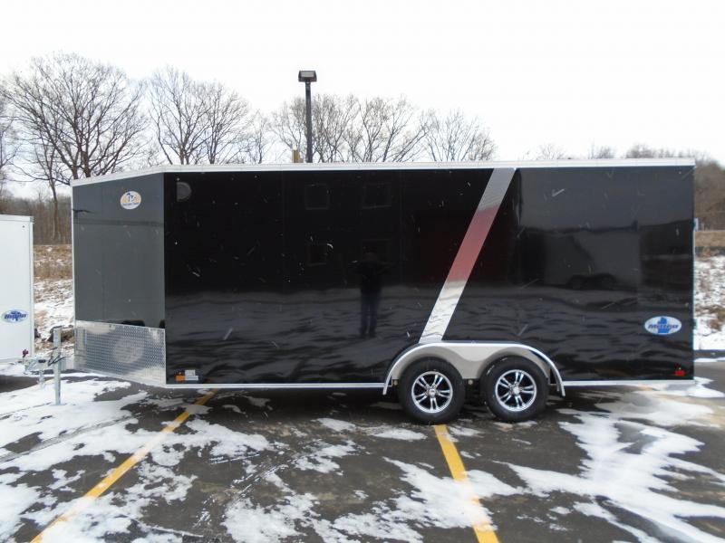 2020 Great Lakes Trailers GLMEAS723TA35-S Snowmobile Trailer