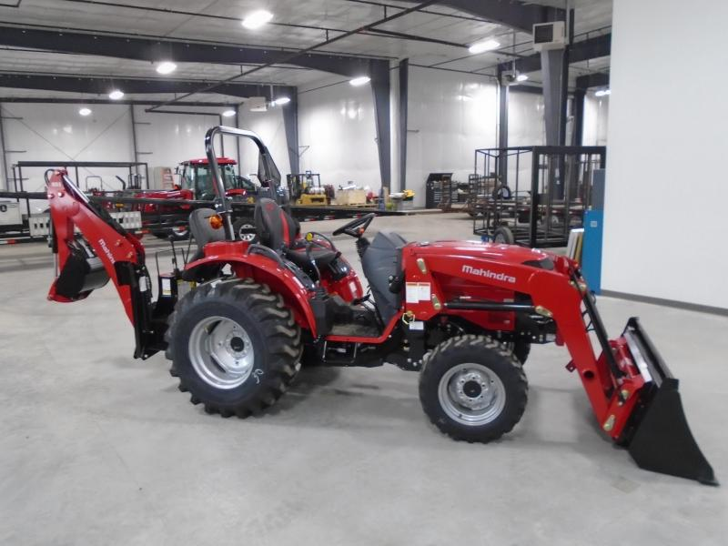 2020 Mahindra 1626H with Loader and Backhoe Tractor