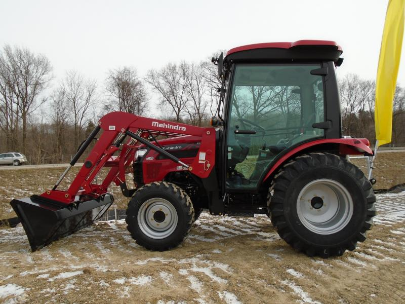 2020 Mahindra 2638SH wit Cab and Loader Tractor