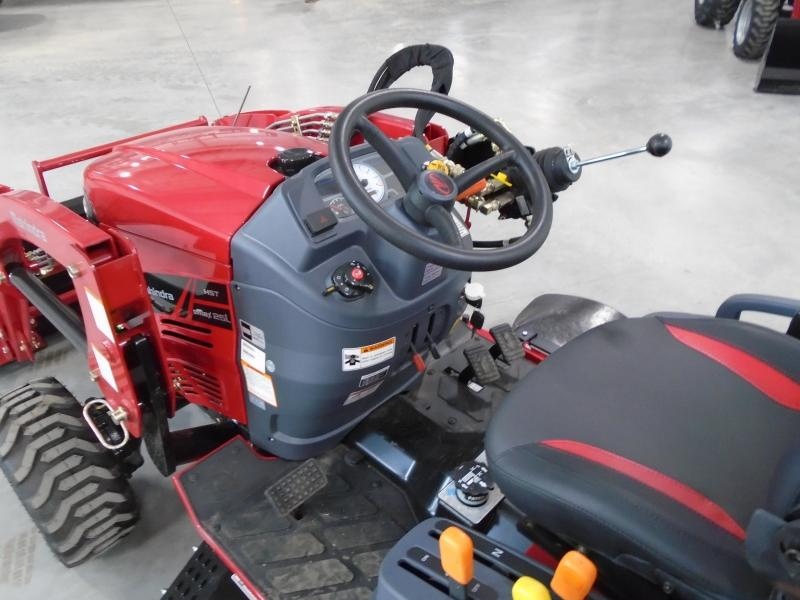 2020 Mahindra eMax25L with Loader and Mower Tractor