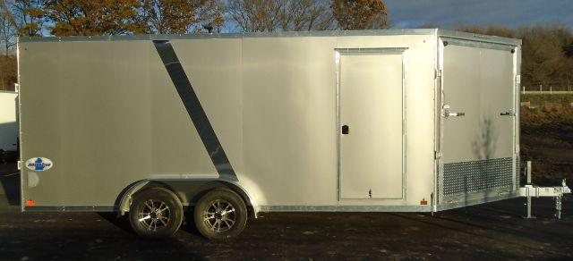2020 Great Lakes Trailers GLMEAS723TA35-S MITTEN 7X23 Snowmobile Trailer