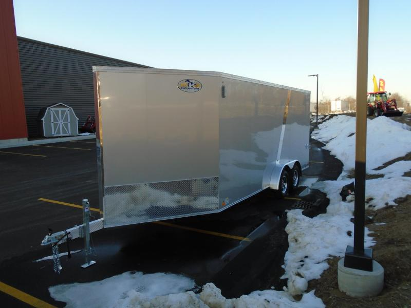 2020 Great Lakes Trailers GLMEAS723TA35-S Snowmobile Trailer