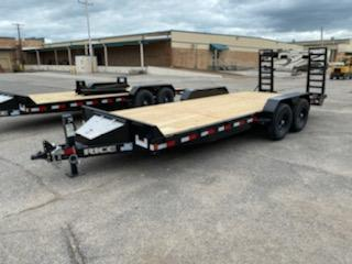 2020 Rice Trailers 20' 14k equipment Trailer