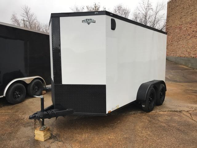 2020 Diamond Cargo 6 x 12 Tandem Enclosed Cargo Trailer