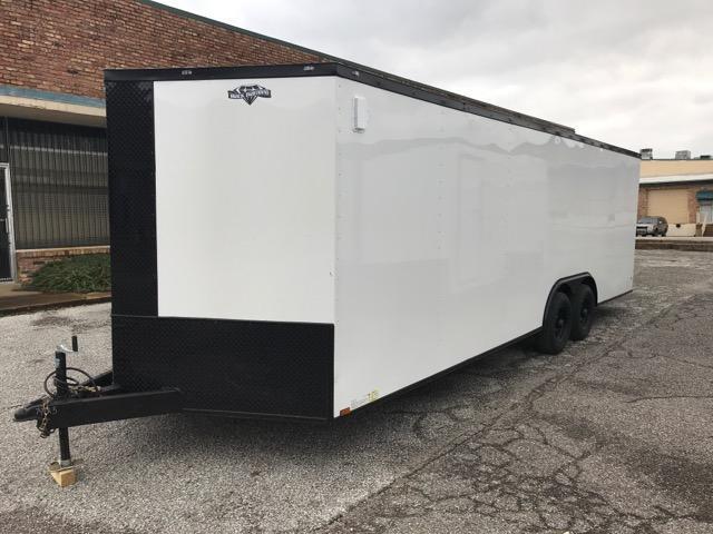 2020 Diamond Cargo 8.5 x 24 Enclosed Trailer