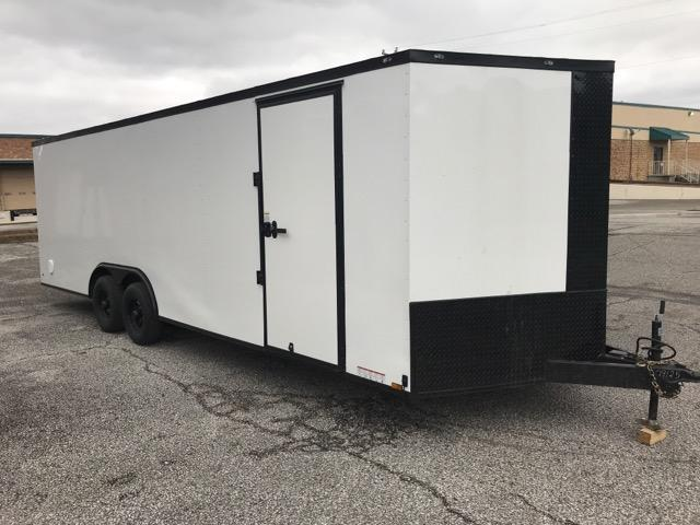 2020 Diamond Cargo 8.5 x 24 Enclosed Trailer