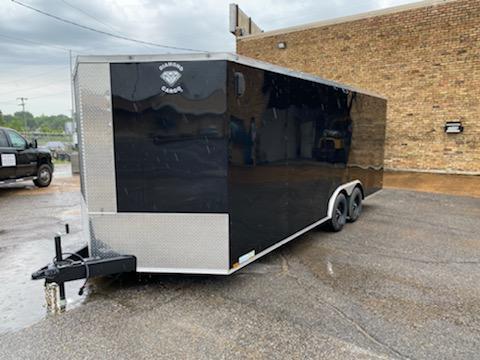2020 Diamond Cargo 8.5 x 20 Enclosed Trailer