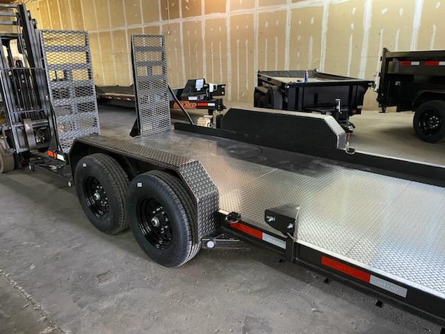 2020 MAXXD B6X8116 Skid Steer Equipment Trailer