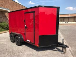 2020 Diamond Cargo 6 x 12 Enclosed Cargo Trailer
