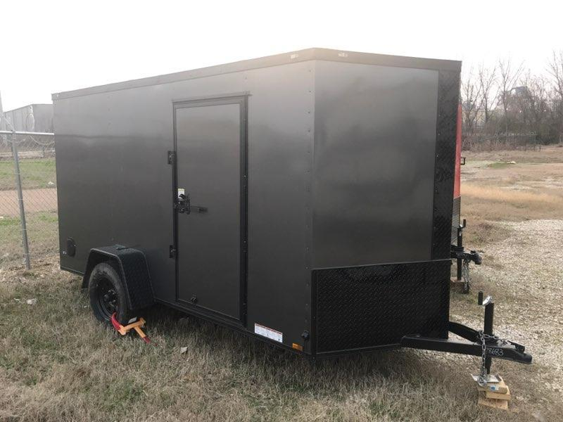 2020 Diamond Cargo 6 x 12 Enclosed Cargo Trailer