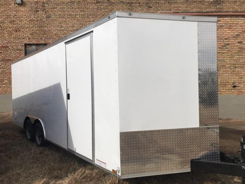 2020 Diamond Cargo 8.5 x 20 Enclosed Trailer