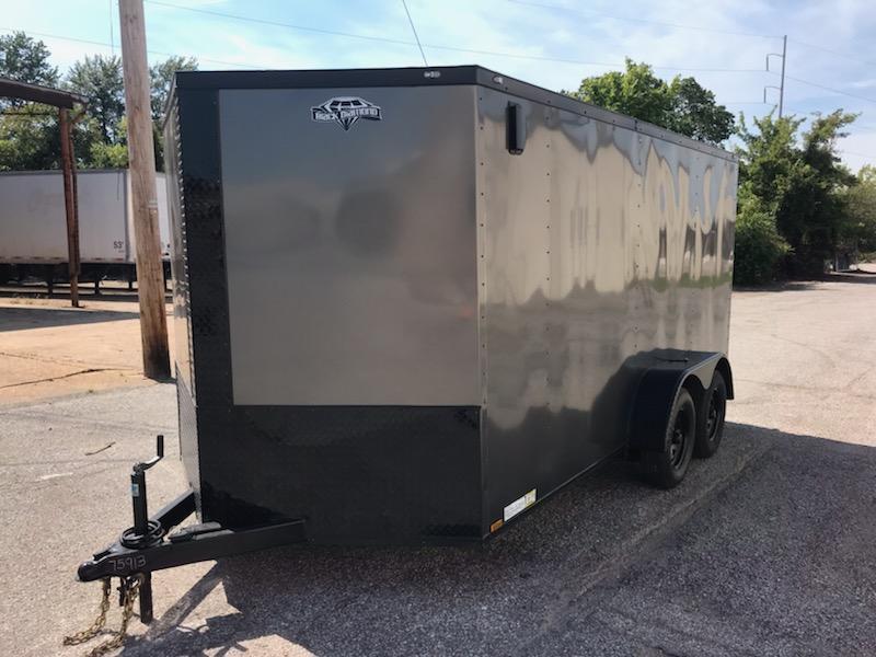 2020 Diamond Cargo 7 x 14 Enclosed Cargo Trailer